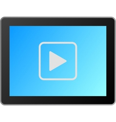 video start vector image