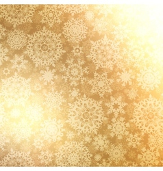 Christmas pattern snowflake background EPS 8 vector image vector image