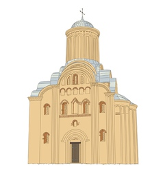Pyatnytska church vector image