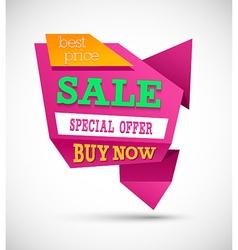 Sale Best Price Banner vector image vector image