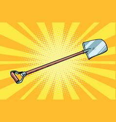 Shovel garden tool vector