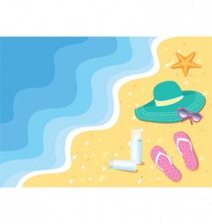 Waves and swimming vector