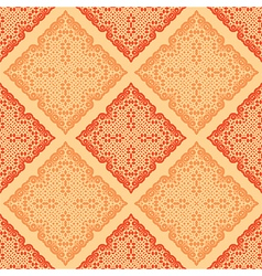 Abstract orange pattern vector