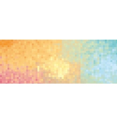 Colorful background red orange yellow green blue vector image