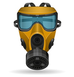 Gas mask 06 vector