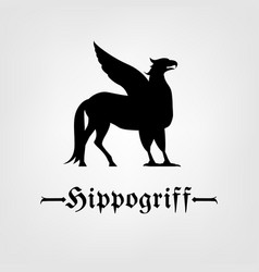 hippogriff image vector image