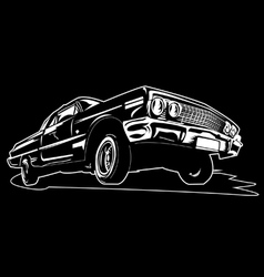 Impala car vector