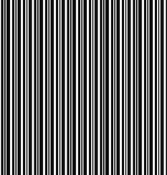 Monochrome repeating barcode stripe design pattern vector