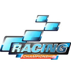 Race Championship vector image