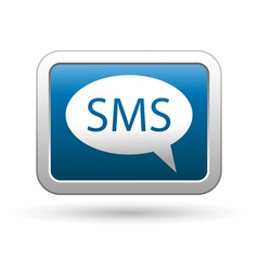 sms icon vector image vector image