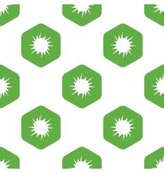 Starburst sign pattern vector