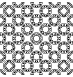 Ball bearing pattern vector