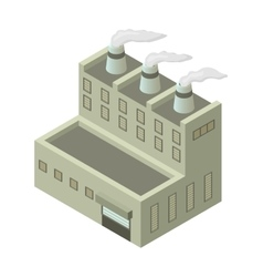 Isometric building vector