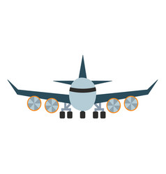 airplane aircraft vector image