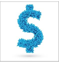 Dollar currency symbol vector