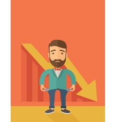 Failed Businessman vector image