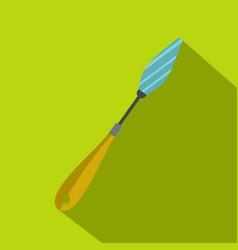 Scraper icon flat style vector