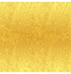Seamless golden background vector image