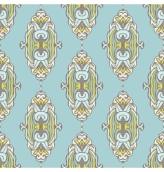 Seamless pattern royal luxury classical damask vector