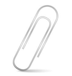 Paper clip vector image