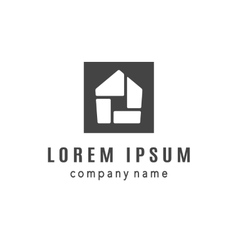House creative logo design vector
