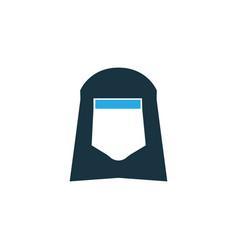 Shawl colorful icon symbol premium quality vector
