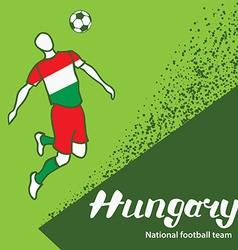Hungary 4 vector image