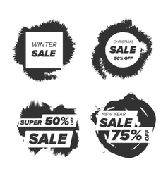 Super sale badge vector