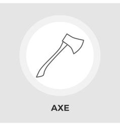 Axe flat icon vector