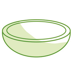 dish food vegetable vector image