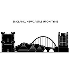 England newcastle upon tyne architecture vector