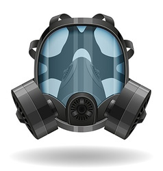 Gas mask 07 vector