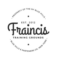 Vintage logo property training grounds company vector