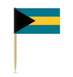 flag of the bahamas vector image