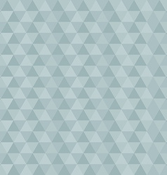 Retro Blue Abstract Triangle Background vector image