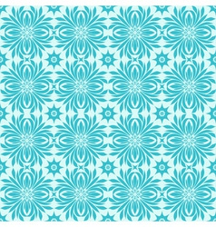 seamless winter pattern with snowflakes vector image vector image
