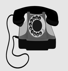 Old phone eps10 vector