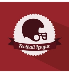 Football championship design vector