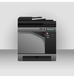 Big printer vector