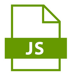 File name extension js type vector