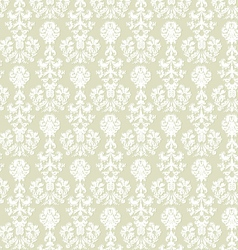 Seamless damask background vector