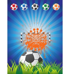 Soccer backgrounf vector