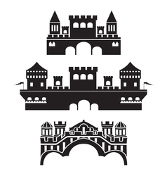 castle1 vector image