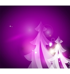 Holiday purple abstract background winter vector