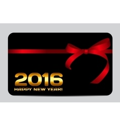 Abstract christmas and 2016 new year card vector