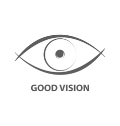 Good vision icon vector image