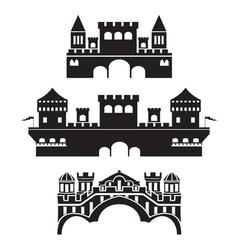castle1 vector image vector image