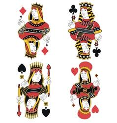 Four queens no card vector