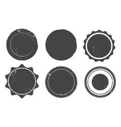Grunge Stamp Set vector image