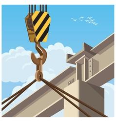 Hi rise construction vector